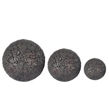 Resim Dekoratif Siyah Top 17cm