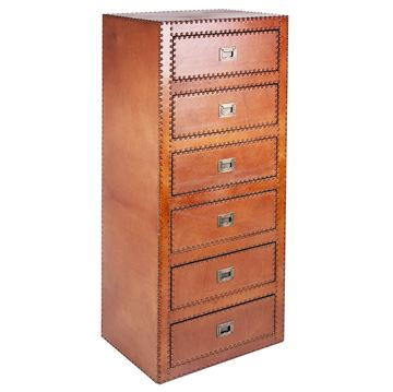 Picture of Sheppard 6 Drawers Commode Light Brown