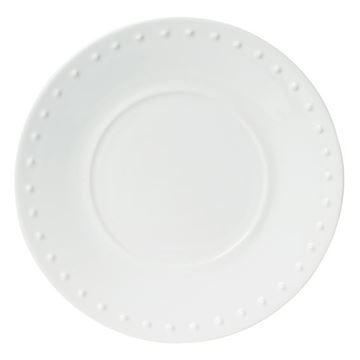 Resim Caravane Beyaz Tatlı Tabağı 22cm