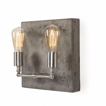 Picture of FACTORY SCONCE IN NICKEL