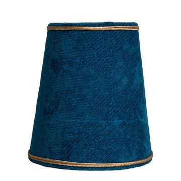 Resim Barozzi Mavi Abajur Şapkası