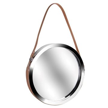 Picture of Leather Handle Mirror