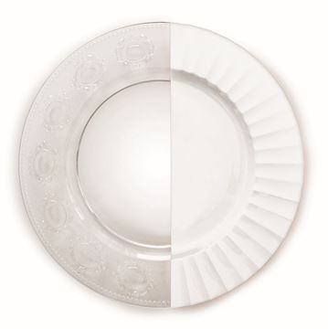 Picture of Clear Glass Service Plate