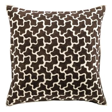 Picture of Ameoba Pillowcase Brown