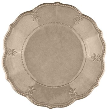 Picture of Set of 6 Soup Plate - Taupe