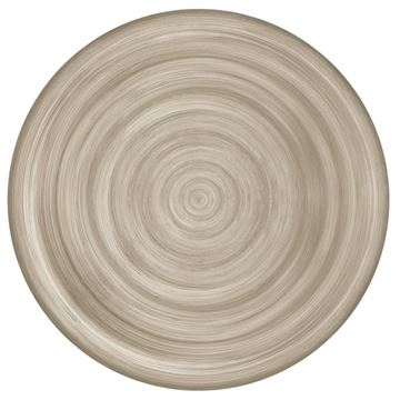 Picture of Set of 6 Dinner Plate 28 cm Taupe