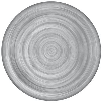 Picture of Set of 6 Dinner Plate 28 cm Grey