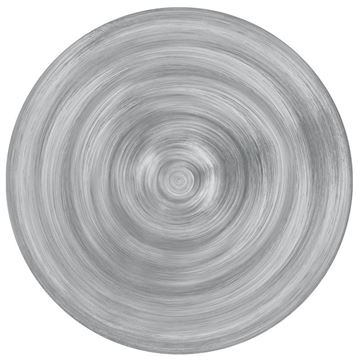 Picture of Set of 6 Soup Plate 23 cm Grey