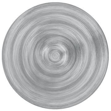 Resim 6'lı Çorba Tabağı Gri 23 cm