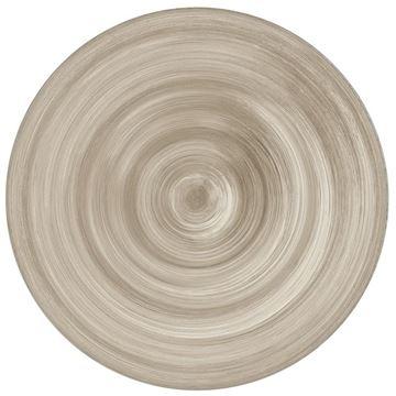 Resim 6'lı Tatlı Tabağı Taupe 23 cm