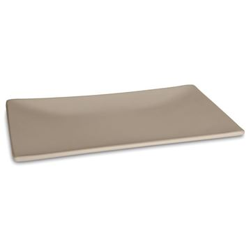 Picture of Sushi Plate 29,5x15,5 cm Taupe