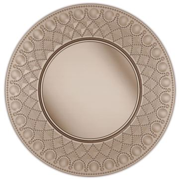 Picture of Set of 2 Plate Mat Clear-Brown