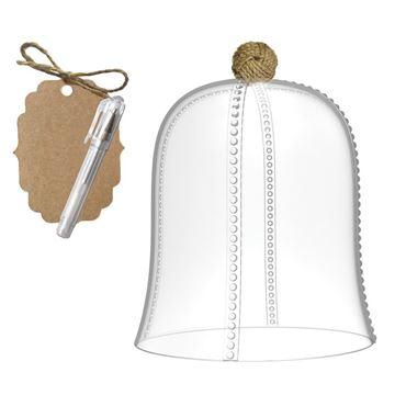 Resim Yemek Kapağı ve Kart Seti Q:15 cm