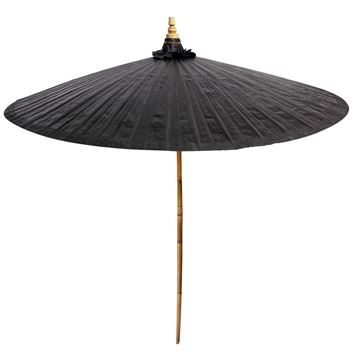 Picture of Black Decorative Umbrella