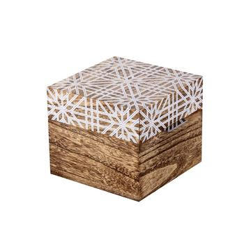 Picture of Wooden Decorative Box 13,5cm