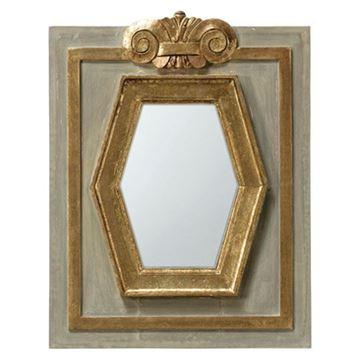 Resim Solitaire Altıgen Ayna 59 cm