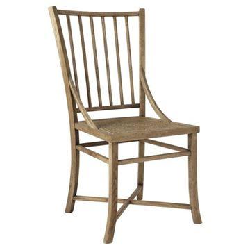 Resim Antik Meşe Yemek Sandalyesi