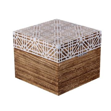 Picture of Wooden Decorative Box 18cm
