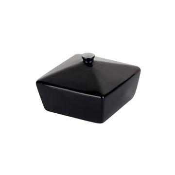 Resim Siyah Antik Kutu 8cm