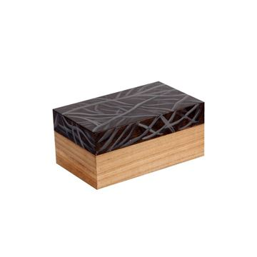 Picture of Wooden Brown Box 9cm