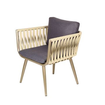 Picture of Zoe Dining Chair Champagne Color