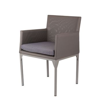 Resim Cyan Yemek Sandalyesi Gri