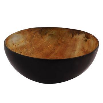 Resim Kemik Çanak Half Burnt Q:16 cm