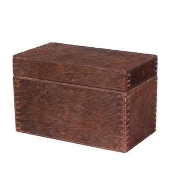 Picture of Decorative Box Darkbrown