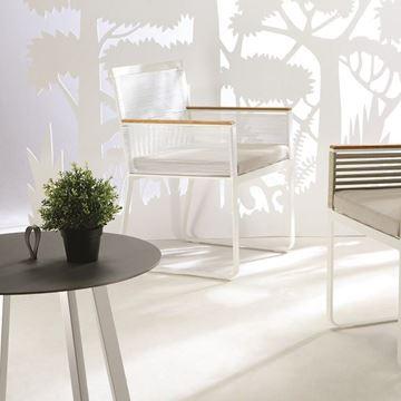 Resim Ringge Yemek Sandalyesi Beyaz