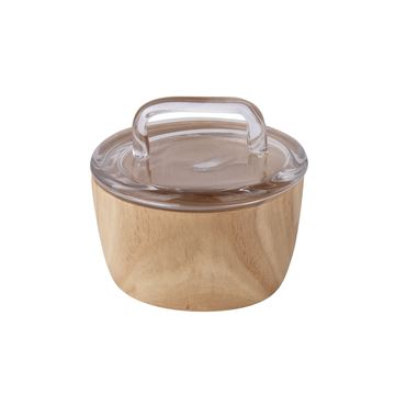 Picture of Wood Base Glass Box 13,5cm