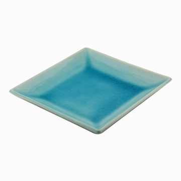 Picture of Square Plate Turquoıse