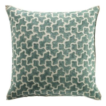 Picture of AMOEBA LINEN OVERSTITCHED CUSHION COVER