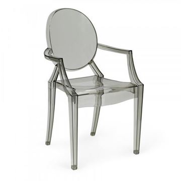 Picture of Louis Ghost Armchair Grey
