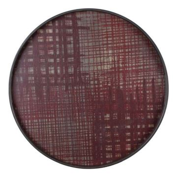 Resim Tepsi Criss Cross Q:48 cm