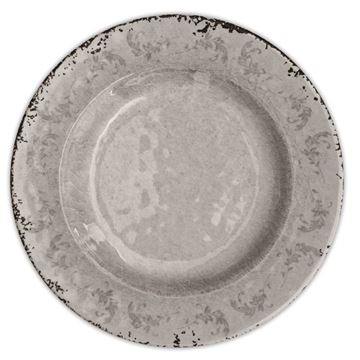 Picture of 6-Food Plate Q:26 cm Bronz