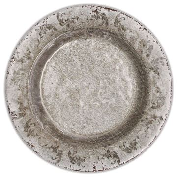 Picture of 6'Dessert Plate Q:23  cm Bronz