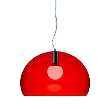 Resim FL/Y Tavan Lambası Kırmızı