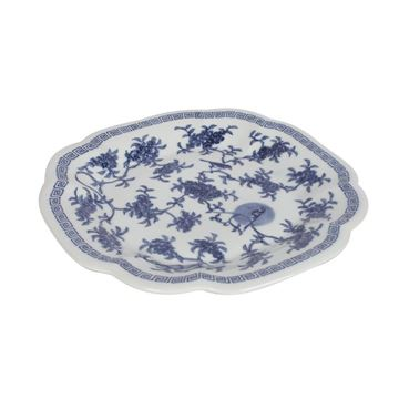 Picture of Blue-White Plate Q:26