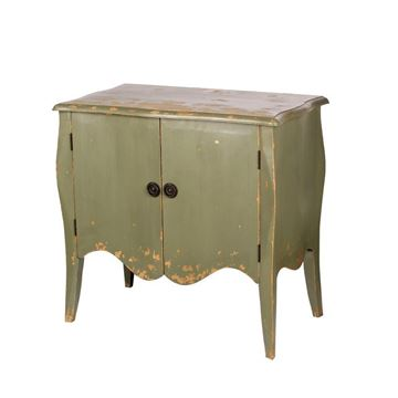 Picture of Antique Green Oldies Commode
