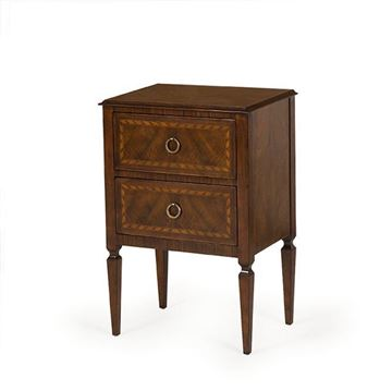 Picture of Komod Wooden Commode with Two Drawers