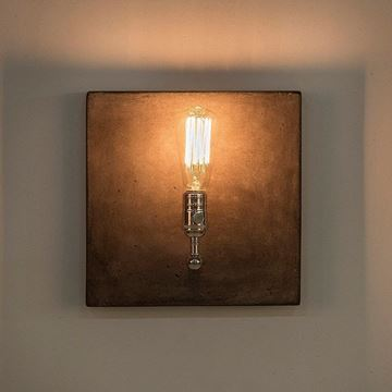 Picture of Factory Sconce Nikel