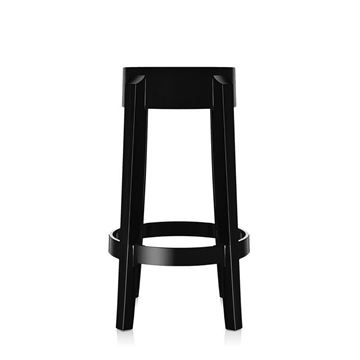 Picture of Charles Ghost Stool Glossy Black H:46 cm