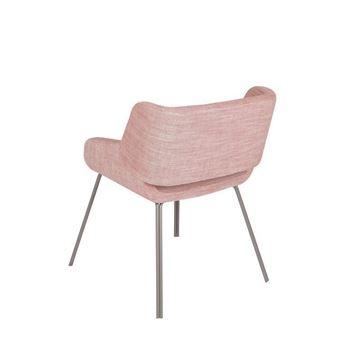 Resim Mobius Yemek Sandalyesi Pembe