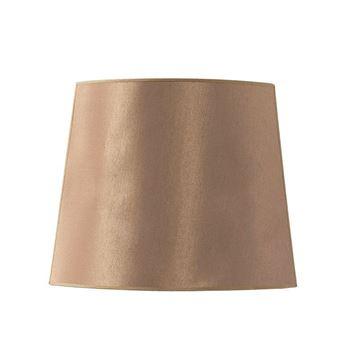 Resim Bordeaux Oval Abajur Şapkası H:35 cm