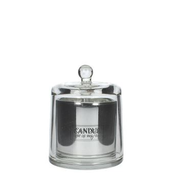 Resim Lilies Mum Gümüş H:14 cm