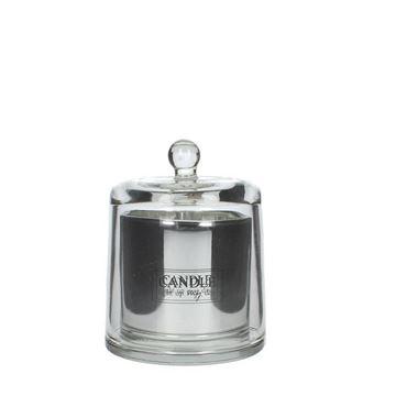 Resim Lilies Mum Gümüş H:17 cm