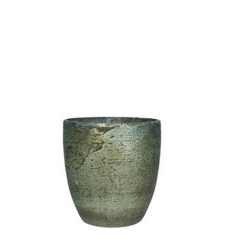 Resim Mumluk Mavi H:11 cm