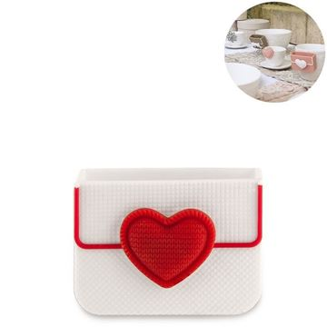 Picture of Cup Accessory Heart Biscuit Box Red