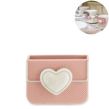 Picture of Cup Accessory Heart Biscuit Box Peach