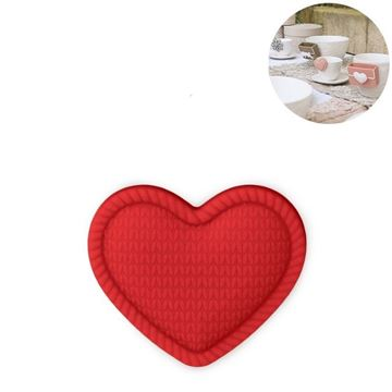 Picture of Cup Accessory Heart Red